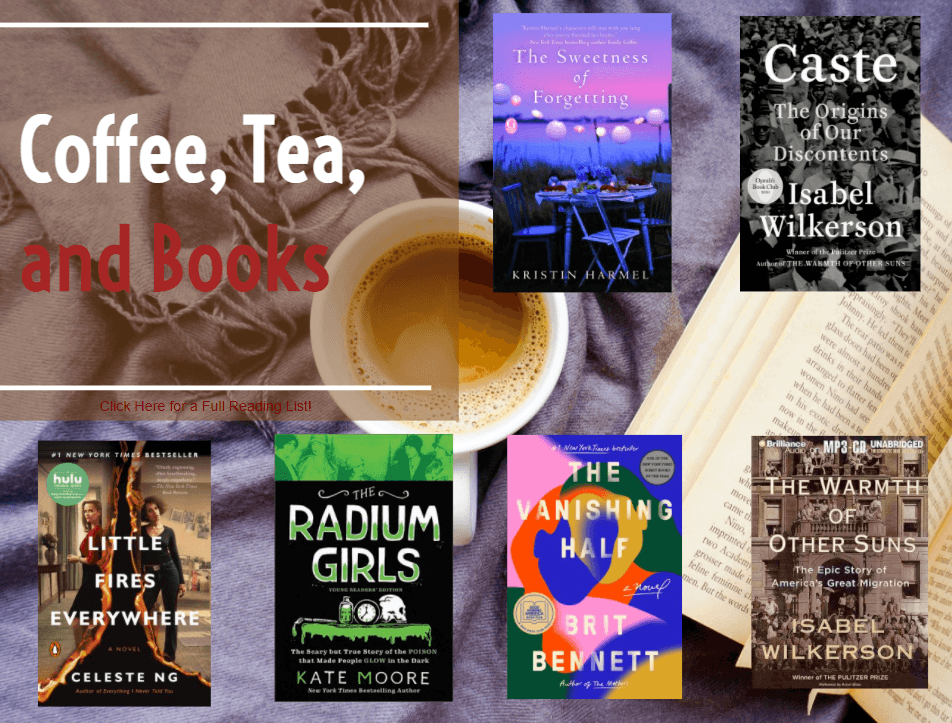 Coffee, Tea, and Books